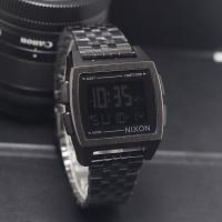 jam tangan unisex nixon digital tali rantai