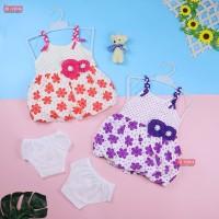 Setelan Vierra Baby 0-12 Bulan / Baju Anak Perempuan Pakaian Bayi Dres