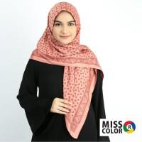 Jilbab Turki Miss Color hijab jaquard premium katun import 110x110-16