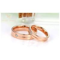 Nikayla Jewelry - Cincin Couple Perak Emas Cincin Kawin Murni