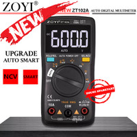 ZOYI ZT102A Upgrade Auto Multimeter Digital Avometer Multitester Ori