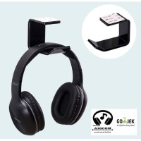 headset headphone stand hanger earphone gantungan dinding gaming