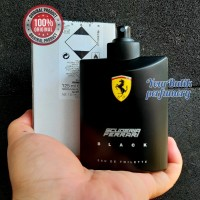 Ferrari Scuderia Black For Men (Tester) Parfum Original