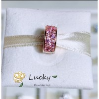 Pandora 781817pcz Sabuk dengan Batu Zircon Warna Rose Gold Pink