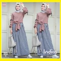 Diskon Indira Set - Pakaian Muslim Wanita Synta Fashion