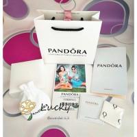 Pandora Rose Gold, Manik-manik Zircon Persegi 786206CZ