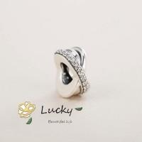 Pandora Gelang Baru Star Ring Space Beads 791994CZ Hadiah