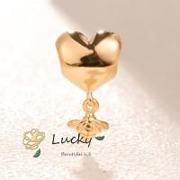 Pandora Liontin Kalung Bentuk Lebah dan Love 767022