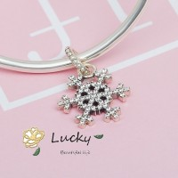 Pandora Liontin Snowflake Zircon 390354cz