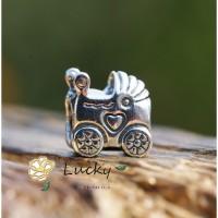 Pandora kereta dorong bayi gelang manik-manik longgar 790346