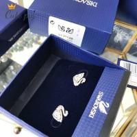 Anting Gantung Model Kristal Swarovski Silver Angsa untuk 5170648
