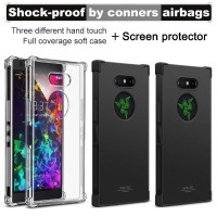 iMak Case Razer Phone 2 Airbag Shock Resistant Soft Casing - Transparent