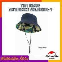 Topi Rimba Bulat Bucket Outdoor Camping Gunung Lipat Ultralight Doreng