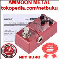 Ammoon Nano Metal Gitar Efek Gitar