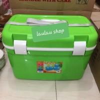 COOLER BOX 30 LITER GREEN LEAF 5792 / BOX PENYIMPANAN TEMPAT ES IKAN