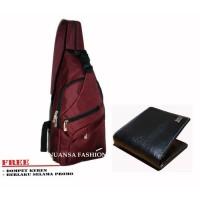 Tas Selempang Punggung Carboni AA00022 Original Produk free dompet