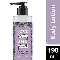 Love Beauty and Planet Argan Oil Lavender Body Lotion 190 ml