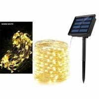 Lampu tirai taman/dinding/outdoor/natal/hias tenaga surya waterproof