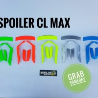 Spoiler INK CL MAX Ala Shoei X14 Silver Stabilo Orange hijau biru gold