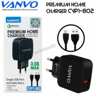 Vanvo Travel Charger Quick Charger Qualcomm 3A CVP1-802