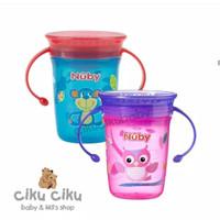 Nuby Wonder Cup 350 with Handle / BOTOL MINUM BAYI / BOTOL SUSU