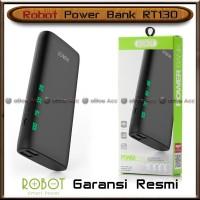 Power Bank Robot 10000 mAh LED RT130 Dual USB Output Fast Charging Ori