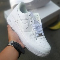 Sepatu Nike Air Force 1 Low White (36 s/d 45) Premium Original