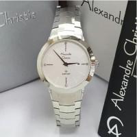 TERBARU jam tangan wanita alexander cristie original ac8568 silver