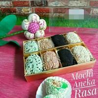 mochi aneka rasa/mochi bulat/kue mochi/kue basah/daifuku mochi