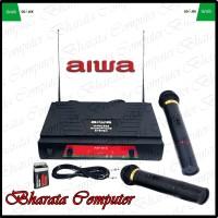 Aiwa Mikrofon / Microphone / Mic AW-616 Microphone Double Wireless