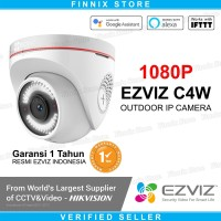 EZVIZ C4W Dome 1080P Outdoor Smart IP Camera CCTV with Active Defense - C4W 1080P