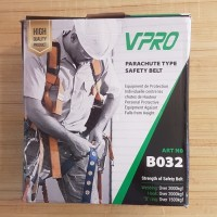VPRO ART NO. B032 PARACHUTE TYPE SAFETY BELT BODY HARNESS