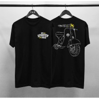 Kaos Distro Pria The Scooter Rider DB Atasan Pria T-shirt Pria