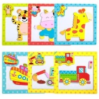 Puzzle Magnet Animal / Mainan Edukasi Anak / Mainan Edukatif