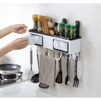best seller MK15 Multifunctional kitchen shelf Rak bumbu dapur
