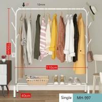 best seller Rak pakaian MH997 Clothes Hanger Gantungan Pakaian SINGLE