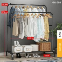 best seller Garment rack MH999 Gantungan Pakaian DOUBLE Clothes Hanger