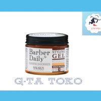Makarizo Professional Barber Daily Wet Look Styling Gel 120 gr
