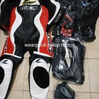 wearpack balap motor satu set lengkap