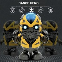 Robot dancing superhero