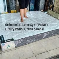 Kasur Busa Latex syn Luxury Pedic-X 120x200x22 orthopedic 20 th disc