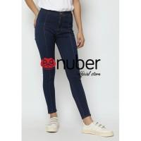 Nuber Arumdalu Highwaist Jeans Stretch -Navy