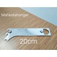 Bracket Pipa Multifungsi H20 | Daun breket pipa kotak /pipa bulat 20cm