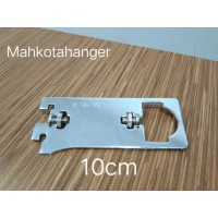 Bracket Pipa Multifungsi H10 | Daun breket pipa kotak /pipa bulat 10cm