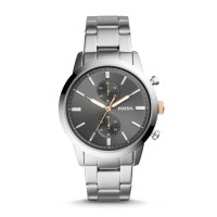 Fossil Townsman Chronograph Stainless Steel Jam Pria [FS5407I]