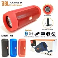 speaker Bluetooth wireless portable Jbl charger 2+ splashproof ori oem