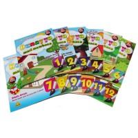 Buku Anak Bunayya Mari Membaca 1 Set 12 Jilid