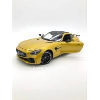 Welly Diecast - Mercedes AMG GT R Skala 24 (Emas)