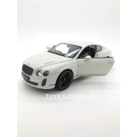 Welly Diecast - Bentley Continental Supersports Skala 1:24 (Putih)
