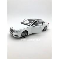 Welly Diecast - Mercedes Benz S Class Skala 1:24 (Putih)